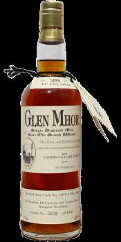 Glen Mhor 25-year-old C&C