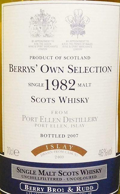 Port Ellen 1982 BR