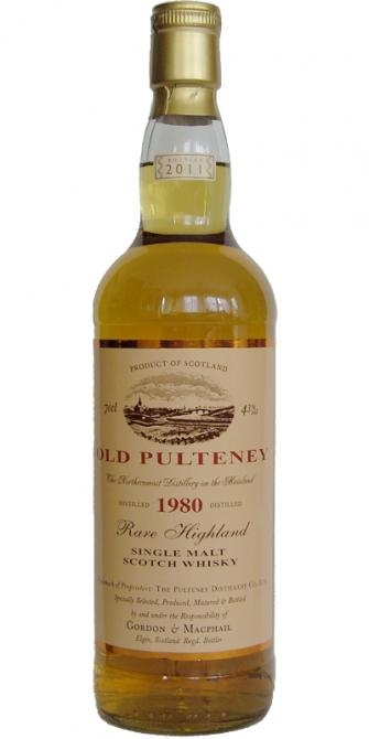 Old Pulteney 1980 GM