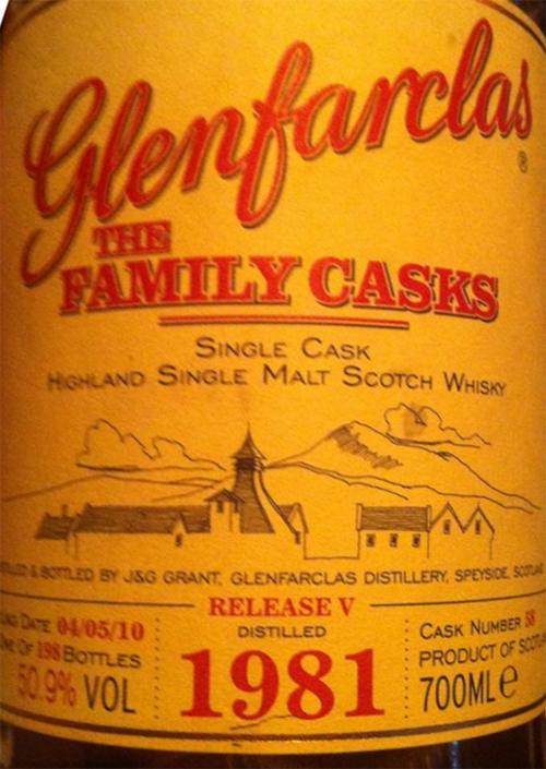 Glenfarclas 1981