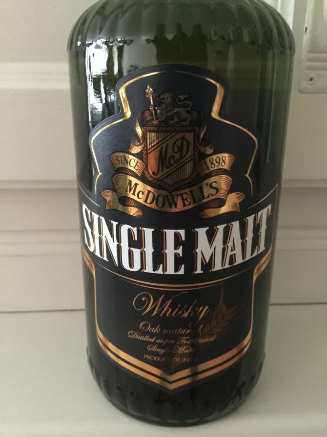 McDowell's Single Malt