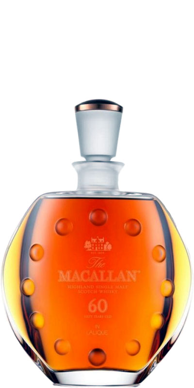 Macallan 60-year-old - Lalique