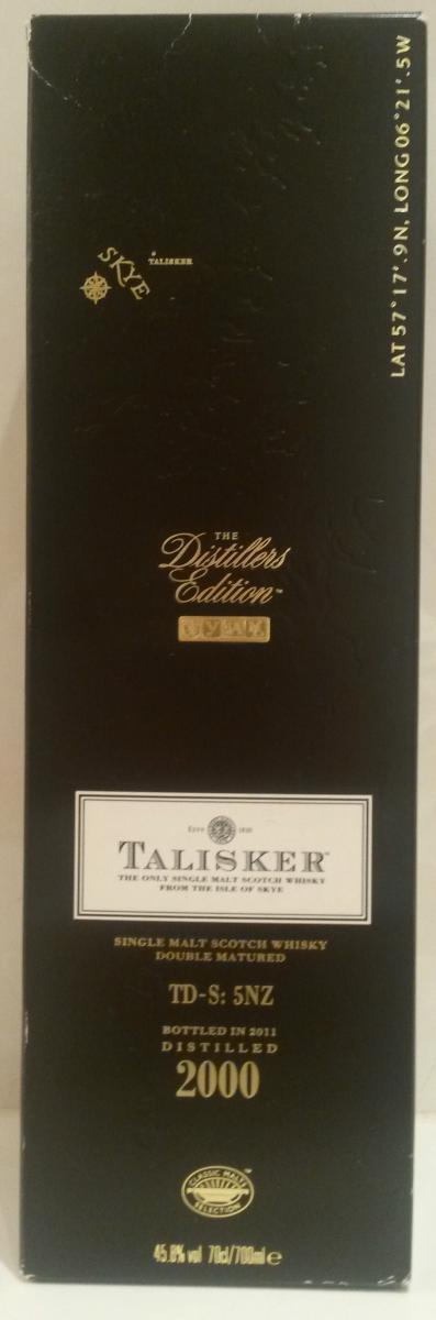 Talisker 2000