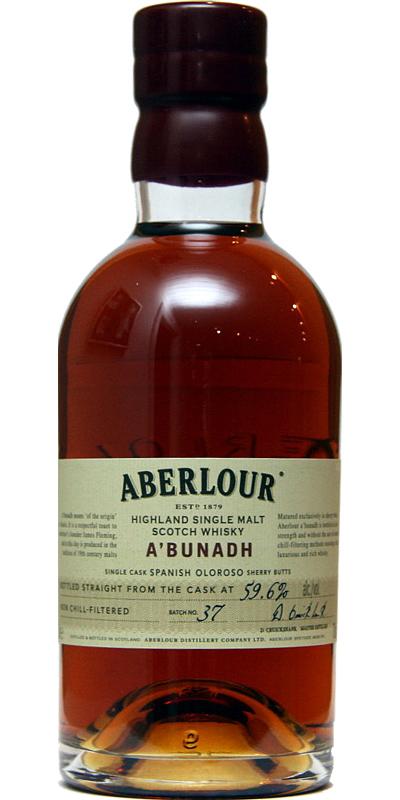 Aberlour A'bunadh batch #37