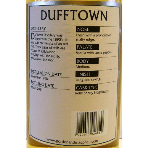 Dufftown 1998 GM