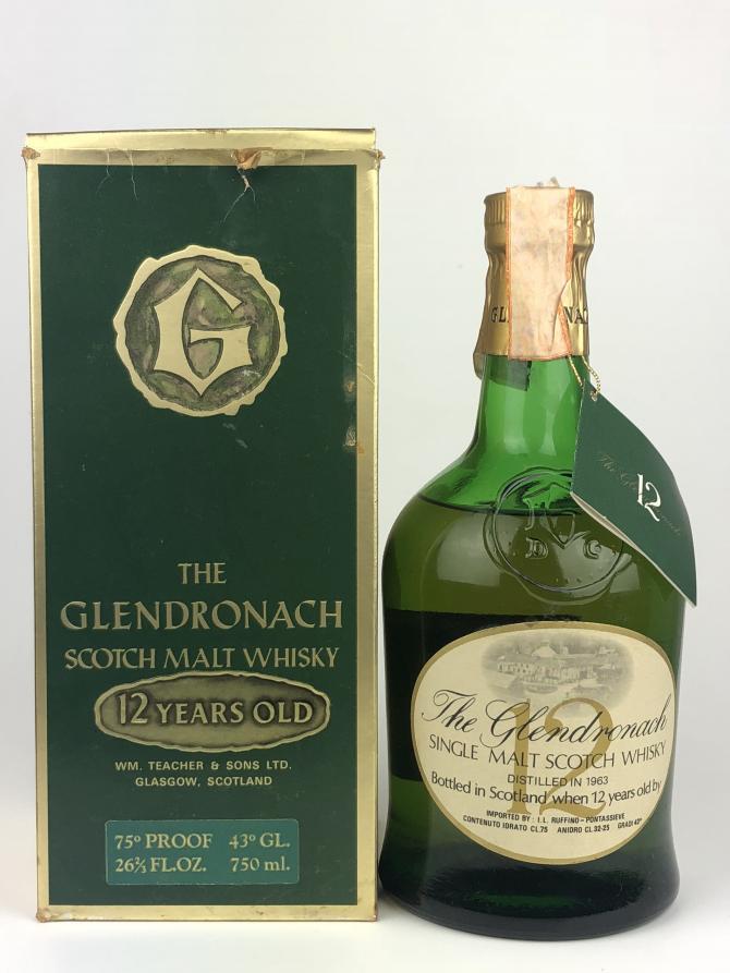Glendronach 1963
