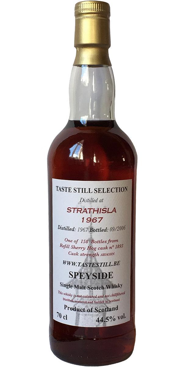 Strathisla 1967 TS