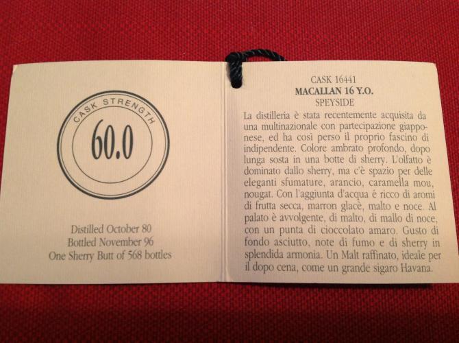 Macallan 1980 WM