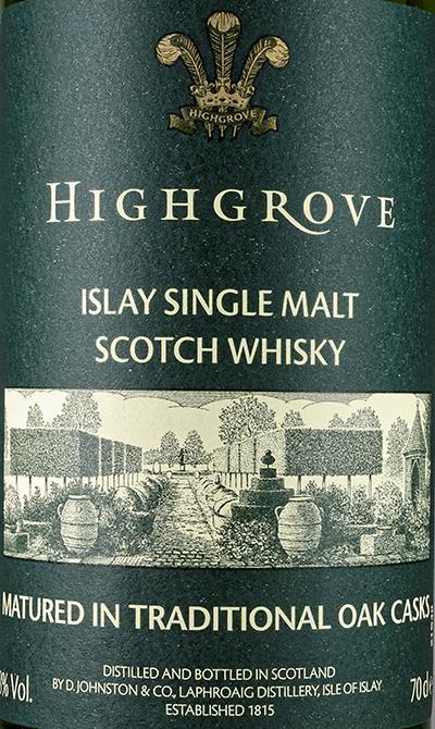Laphroaig Highgrove