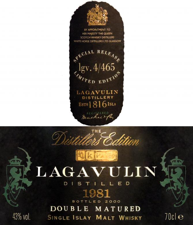 Lagavulin 1981