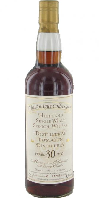 Tomatin 30-year-old H&I