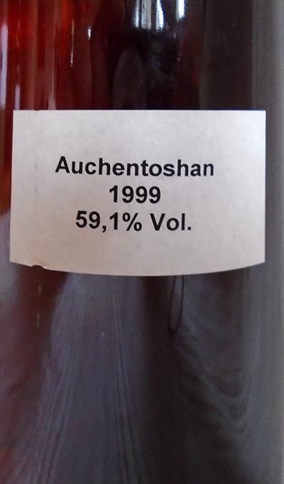 Auchentoshan 1999 PW&S