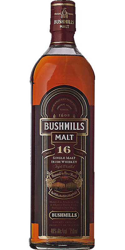 Bushmills 16-year-old