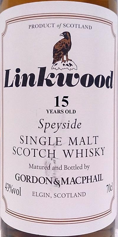 Linkwood 15-year-old GM
