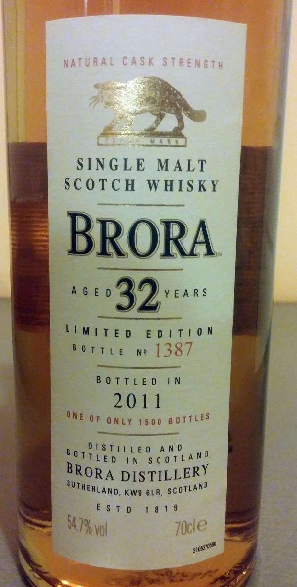 Brora 10th Release