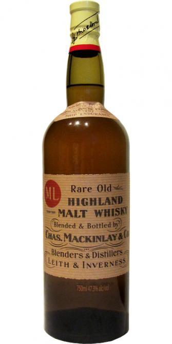 Mackinlay's Shackelton's Rare Old Highland Malt