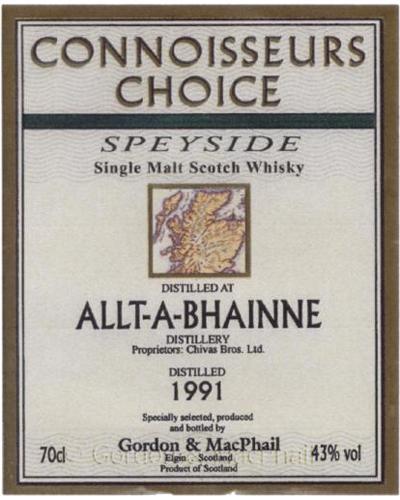 Allt-a-Bhainne 1991 GM