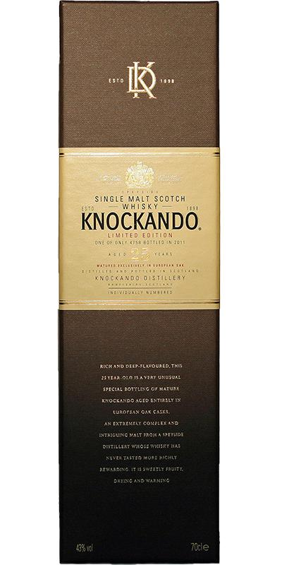 Knockando 25-year-old