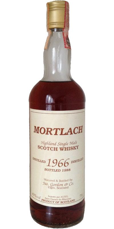 Mortlach 1966 JG
