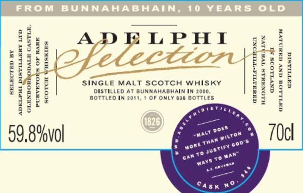 Bunnahabhain 2000 AD