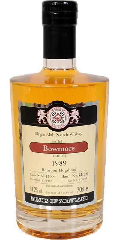 Bowmore 1989 MoS