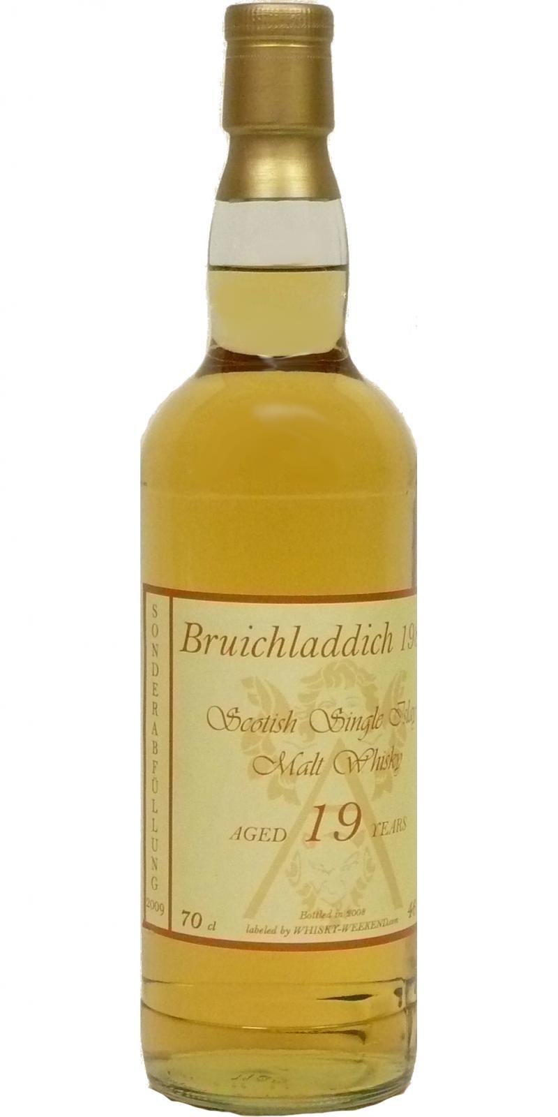 Bruichladdich 1989 WhW