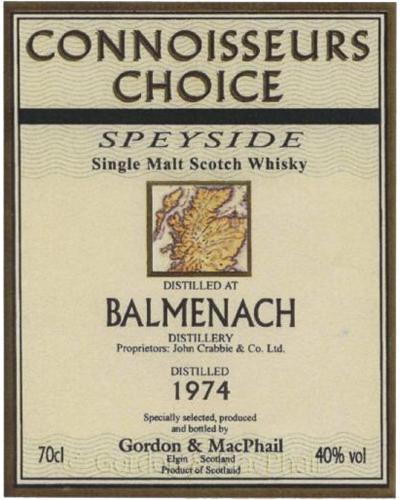 Balmenach 1974 GM