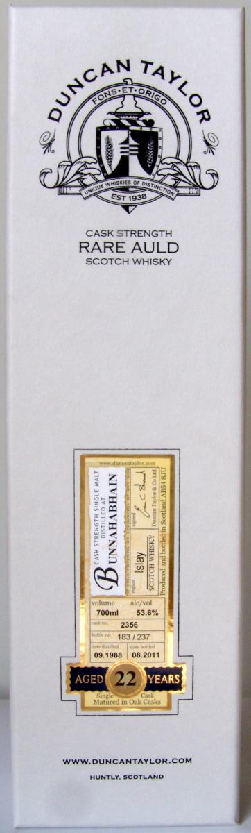 Bunnahabhain 1988 DT