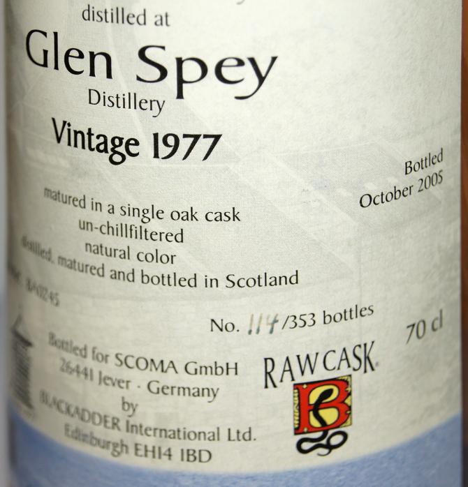 Glen Spey 1977 BA