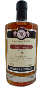 Laphroaig 1998 MoS