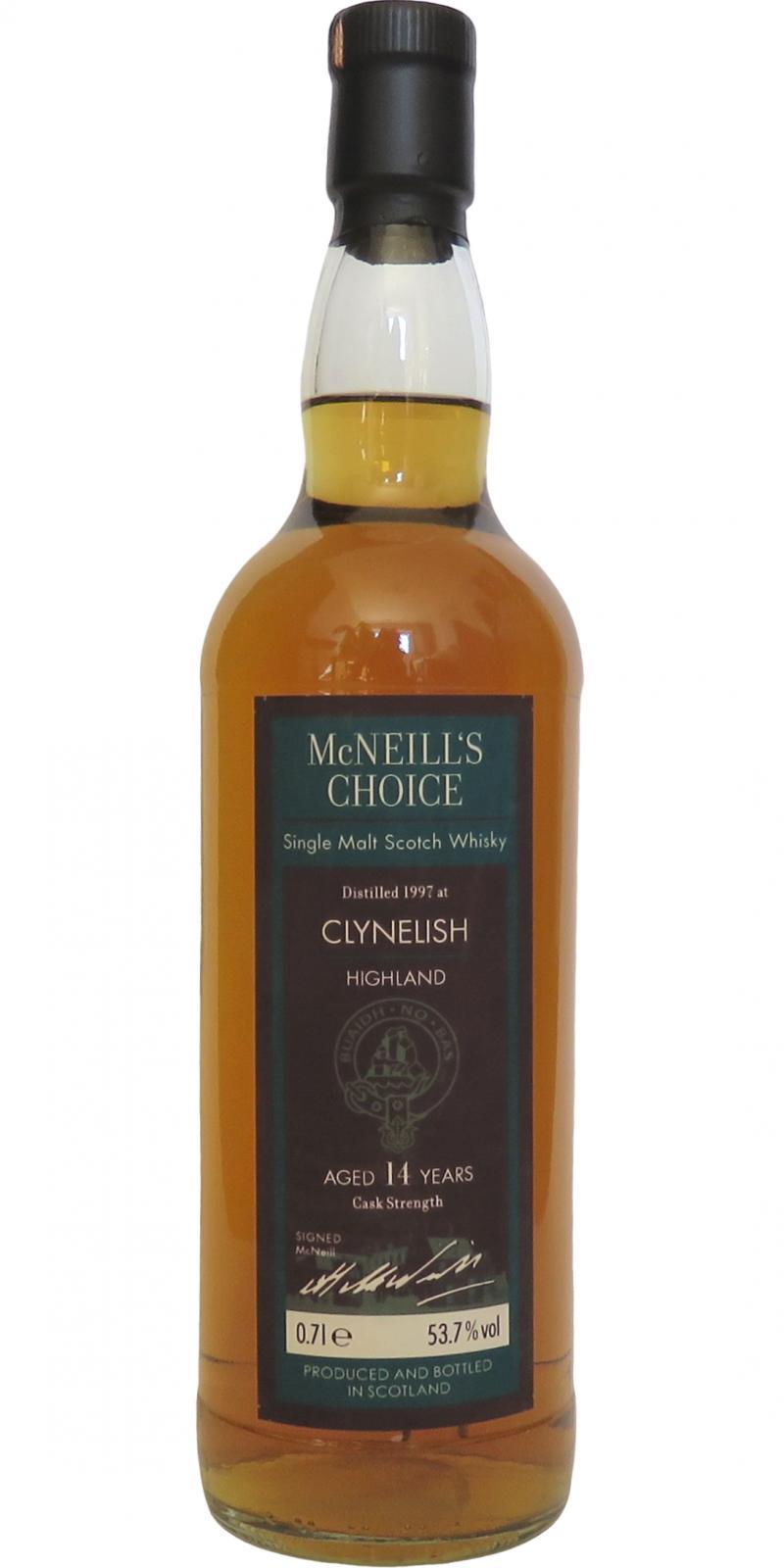 Clynelish 1997 MNC