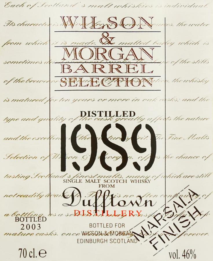Dufftown 1989 WM