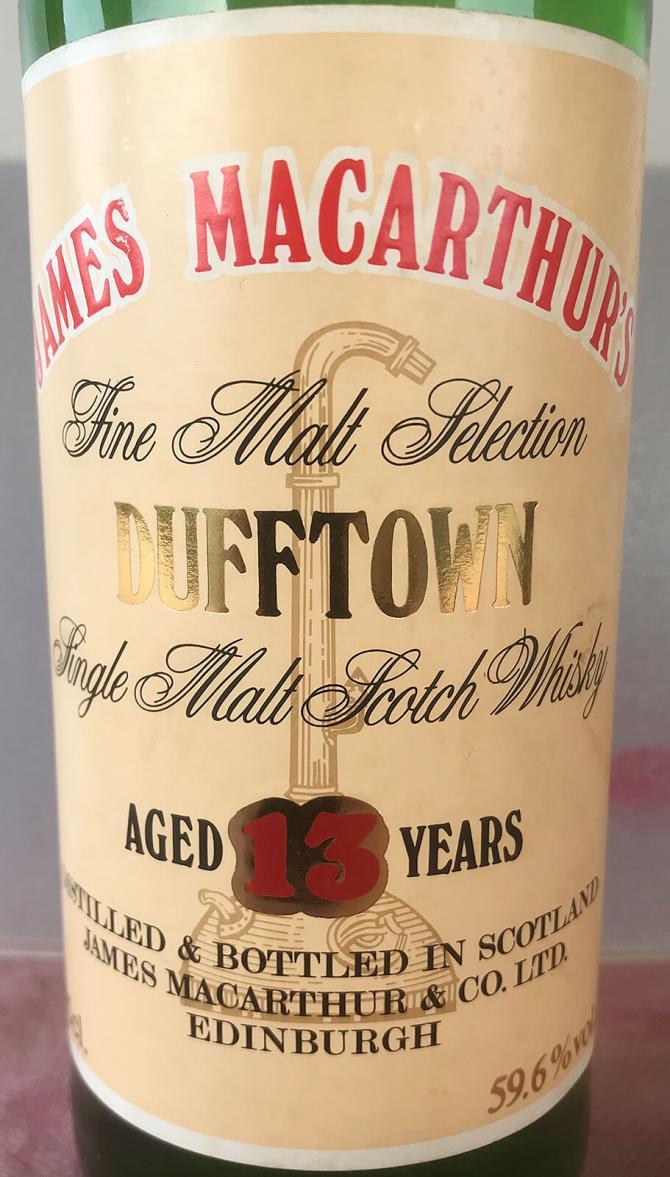 Dufftown 13-year-old JM