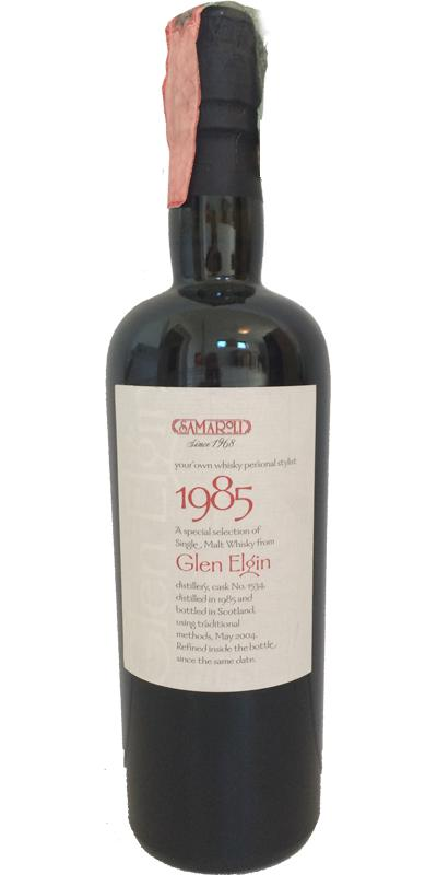 Glen Elgin 1985 Sa