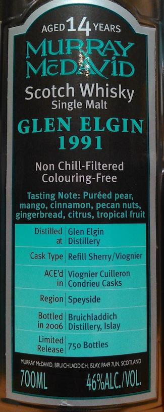 Glen Elgin 1991 MM