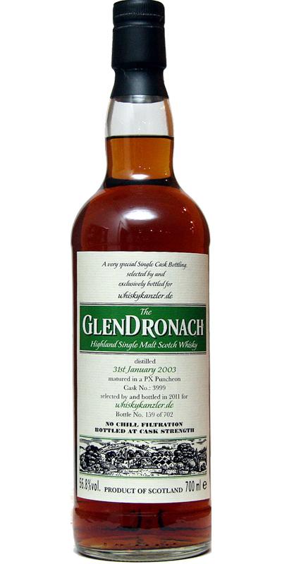 Glendronach 2003 Wk