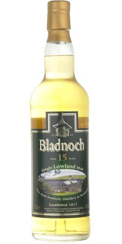 Bladnoch 15-year-old
