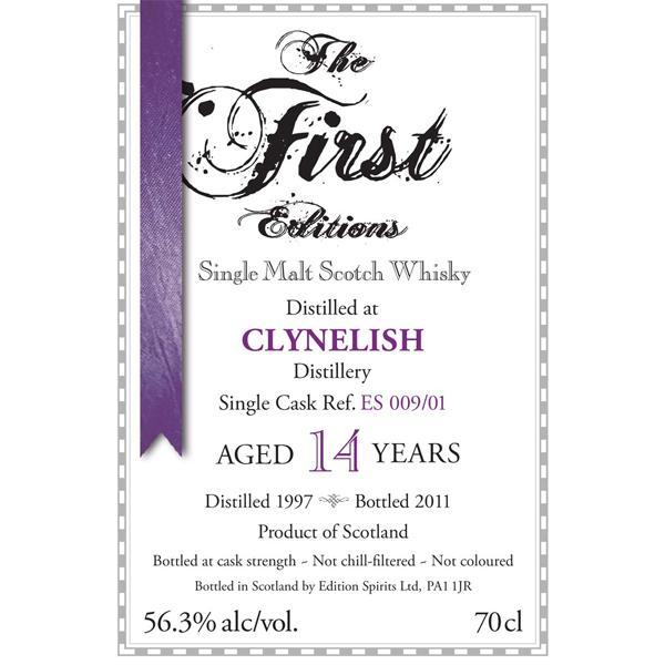 Clynelish 1997 ED