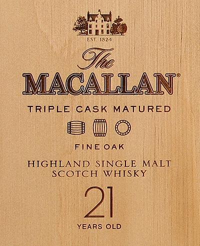Macallan 21-year-old