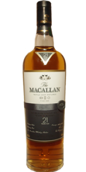 Macallan 21-year-old