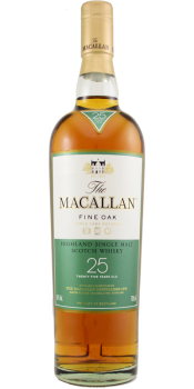 Macallan 25-year-old