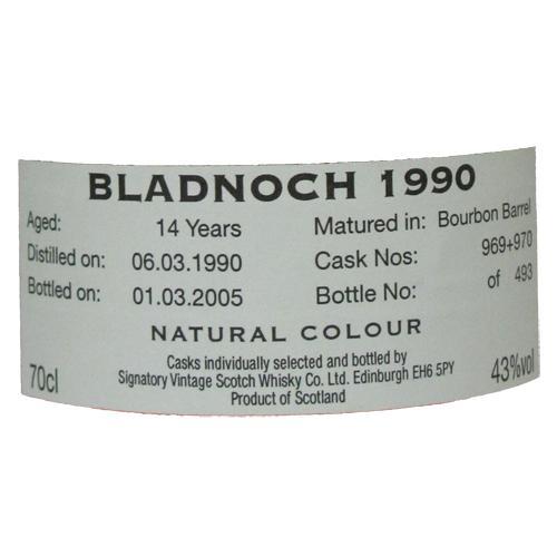 Bladnoch 1990 SV
