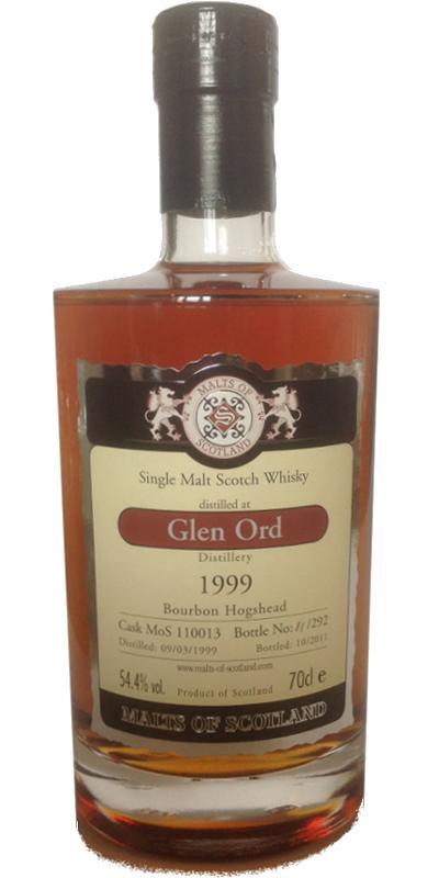 Glen Ord 1999 MoS