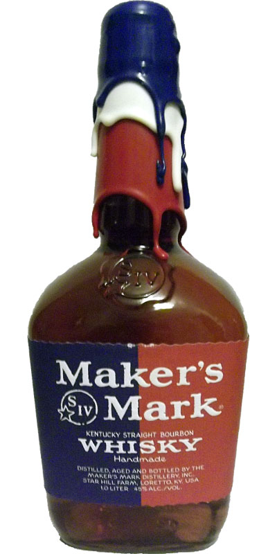 Maker's Mark Red / White / Blue Wax