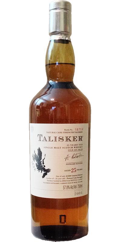 Talisker 25-year-old
