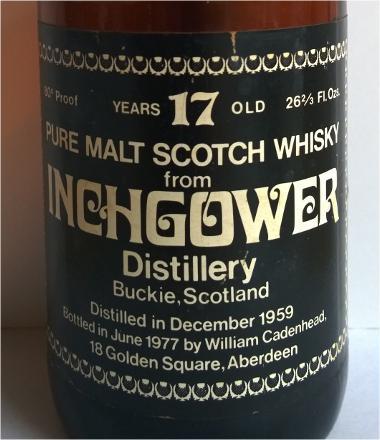 Inchgower 1959 CA