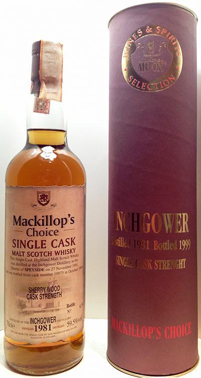 Inchgower 1981 McC