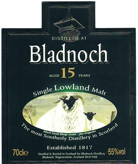 Bladnoch 15-year-old