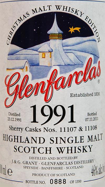 Glenfarclas 1991