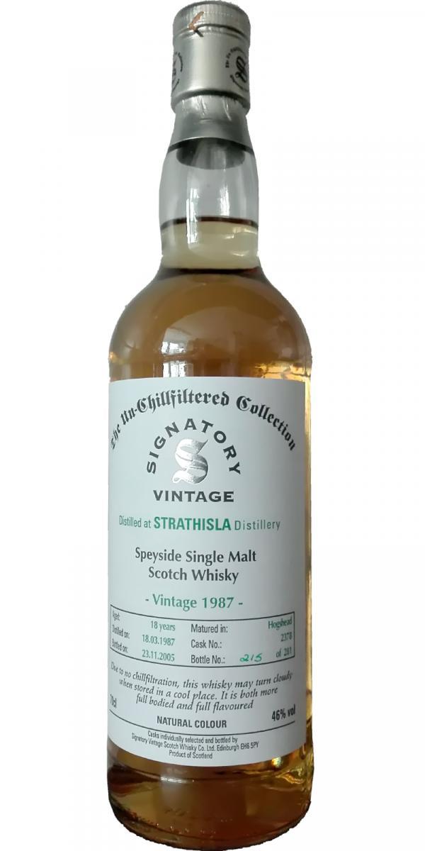 Strathisla 1987 SV
